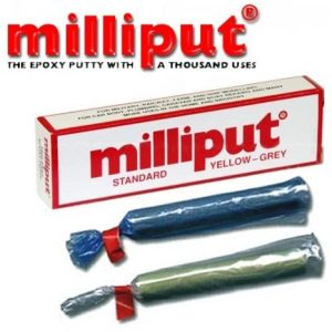 milliput two part epoxy putty