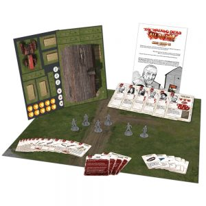 miles behind us expansion for the walking dead all out war miniatures game by mantic games