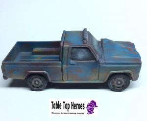 painted truck from the scenery booster