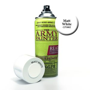 can of white army painter primer spray