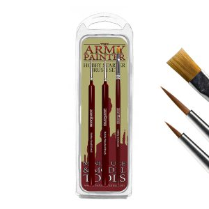 pack of three hobby starter brushes