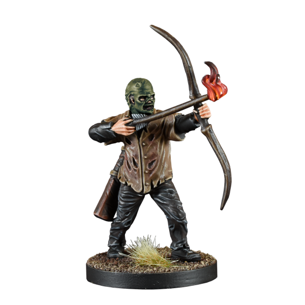 painted whisperers minion with bow painted example