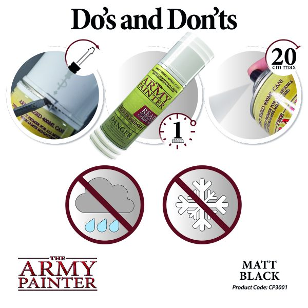 dos and don'ts of primer spray
