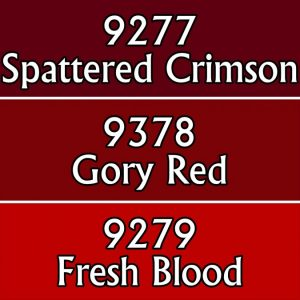 gory red colours