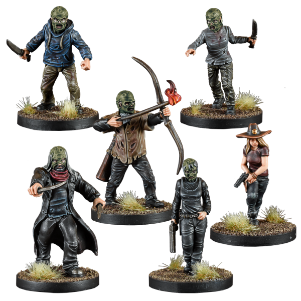 whisperers faction pack for the walking dead painted figures