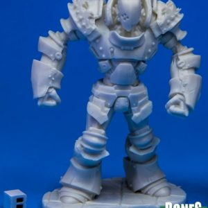 Unpainted iron golem miniature