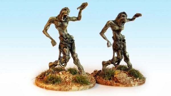 Example of painted zombies