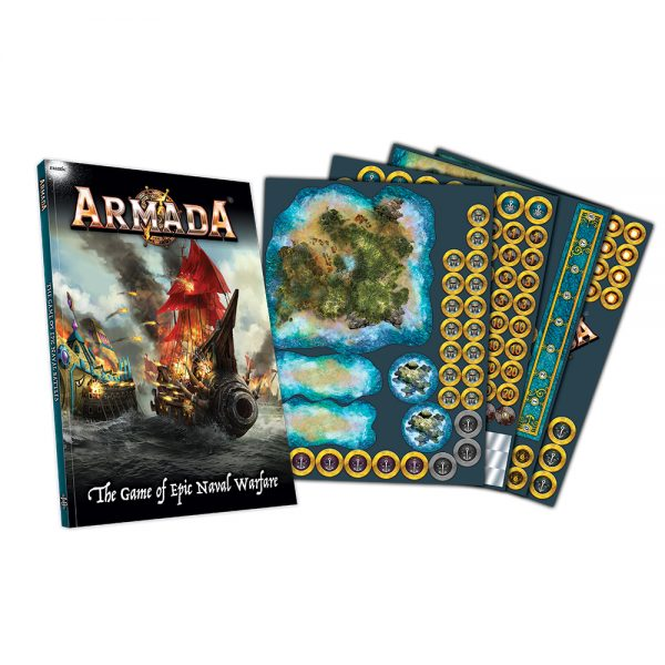 armada rules set and template sheets