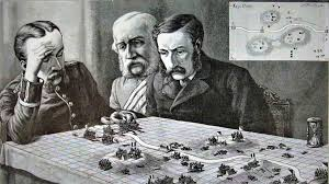 image of victorian wargamers