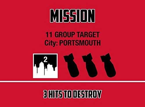 mission card from battle of britain game