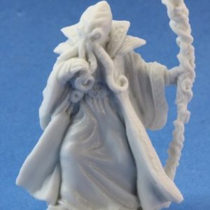 unpainted mind flayer figure from reaper