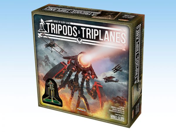 tripods and triplanes box cover