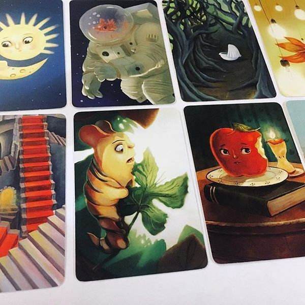 example of some dixit cards