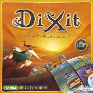 front cover of Dixit board game