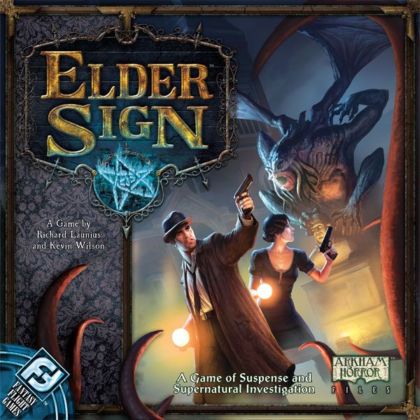 front cover of elder sign box
