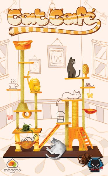front cover of cat cafe game