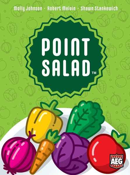 front of point salad box