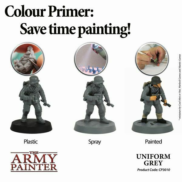 example of grey painted figures