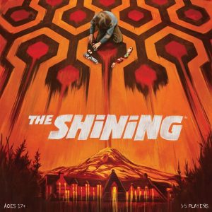 front cover of the box for the shining game