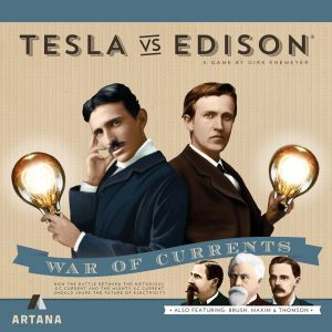 front cover of tesla vs edison
