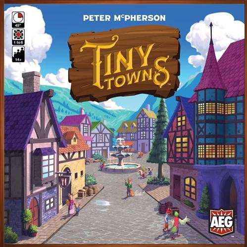 front cover of tiny towns