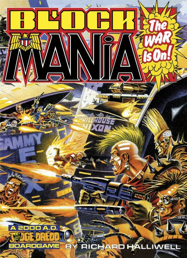 Front Cover of Block Mania