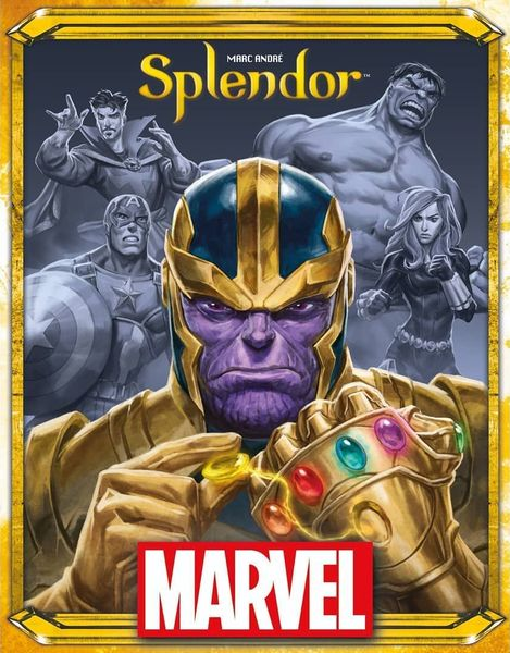 Marvel Splendor box cover