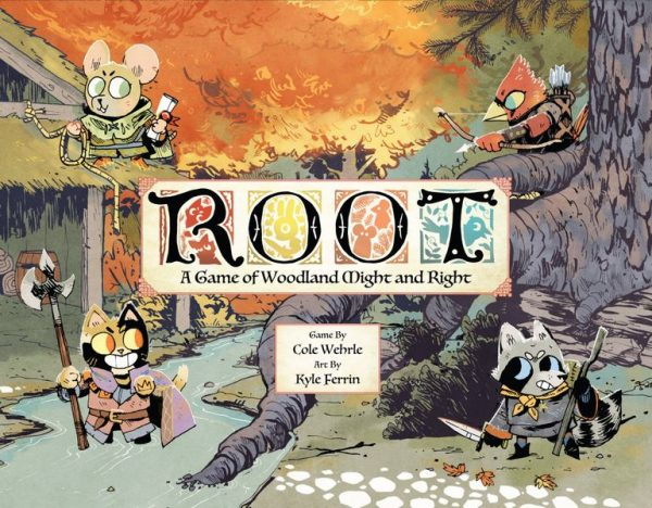 front box cover for root