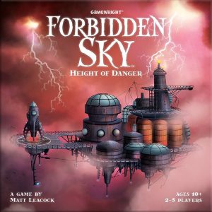 front cover of forbidden sky