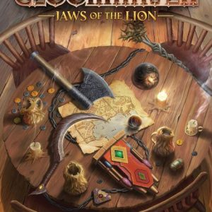 Jaws of the Lion front cover
