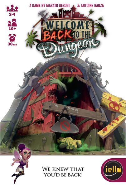 welcome back to the dungeon front cover