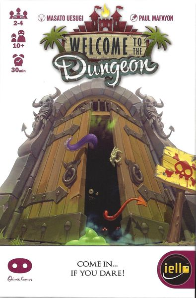 welcome to the dungeon front cover