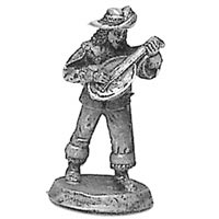 Ral Partha Bard miniature unpainted