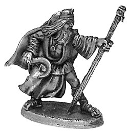 male druid figure unpainted