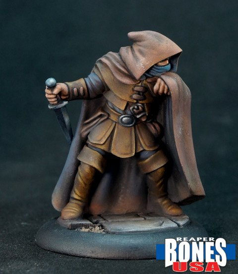 painted thief figure