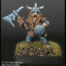 ral partha dwarf warrior painted