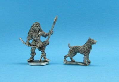 Ral Partha hunter with dog unpainted